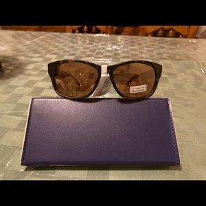 Tommy Hilfiger Brown Oval sunglasses Leo